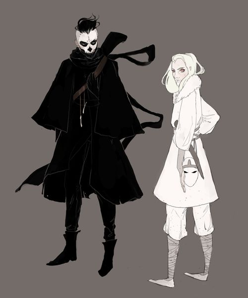 Concept outfits. by =knockingghosts on deviantART