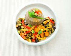 Tortino di quinoa con caponata alla curcuma - Tutte le ricette dalla A alla Z - Cucina Naturale - Ricette, Menu, Diete