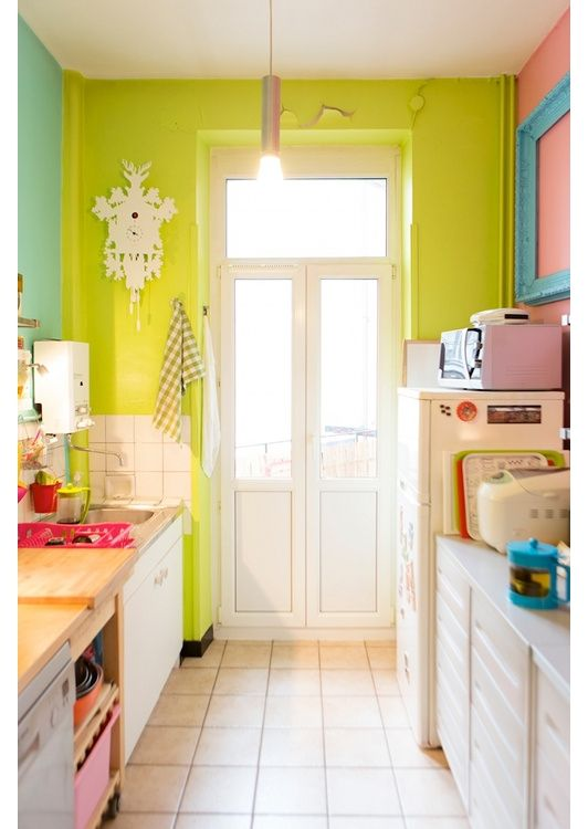 Colorful Kitchen - Home and Garden Design Ideas