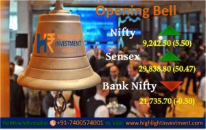 Highlight Investment Research: HIGHLIGHT OPENING BELL:  #Commodity Trading Tips, #Share Market Tips, #Intraday Tips, #SEBI Registered Investment Adviser in India, #Mcx live price, Commodity tips free trial, Best #advisory company in india, Stock Market tips, Stock Advisory Company, Intraday Stock Calls, Free #Equity Tips on Mobile, Best Investment Advisory Firms in India  For More Details go through this link http://bit.ly/2mw2zdj