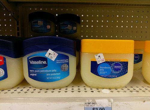 Brand knock-offs - petroleum jelly -