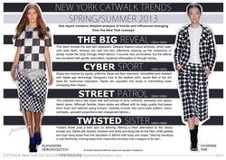 S/S 2013 Catwalk Trend Analysis - New York