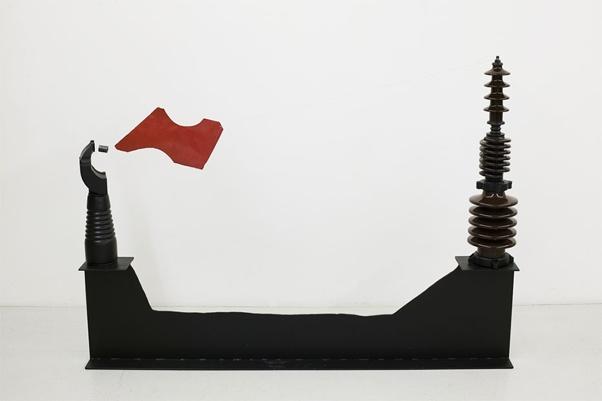 Takis, Vassilakis, Magnetic sculpture, 1988