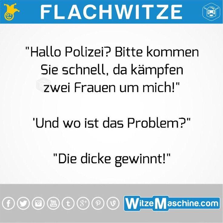 Flachwitze #123 - Polizei Witze - Lustiger Notruf