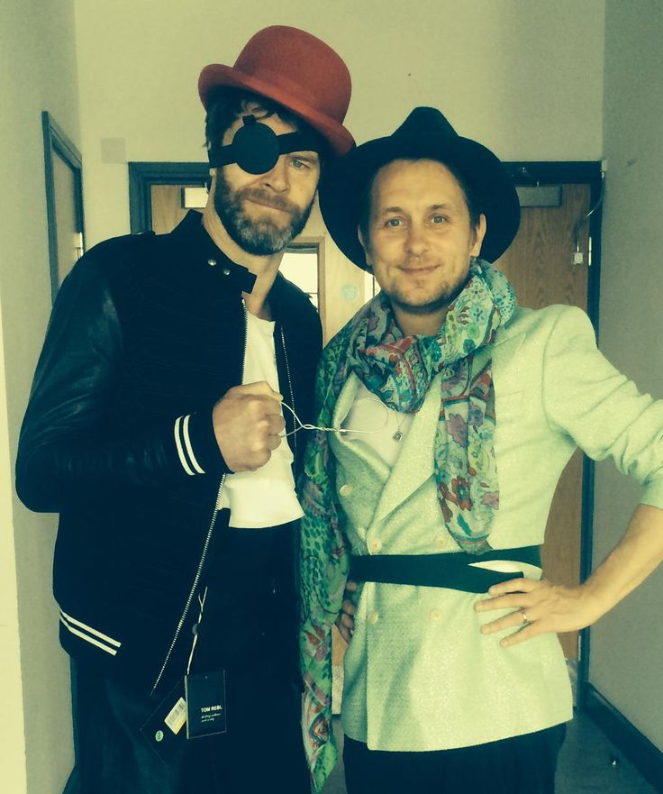 Take That II  Howard Donald and Mark Owen