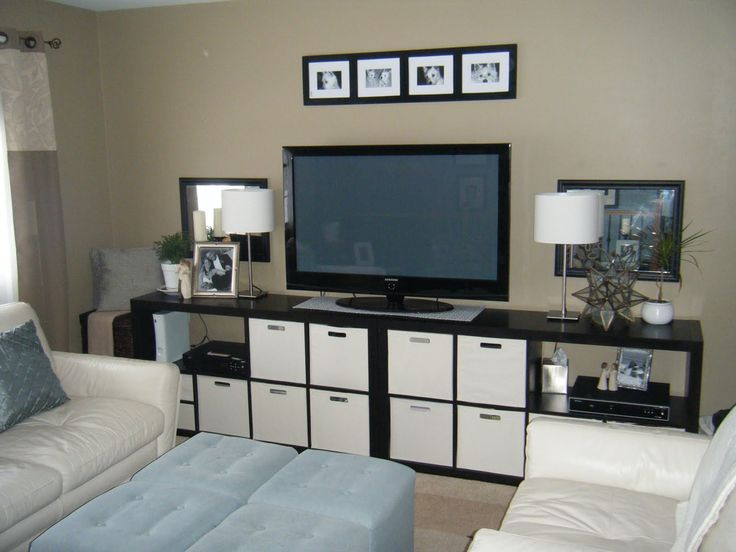 Ikea Expedit As Tv Stand Living Room Ideas