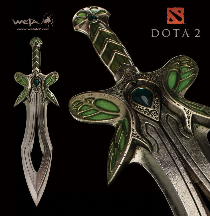 [WETA] DOTA 2: Butterfly 2 Sword Replica