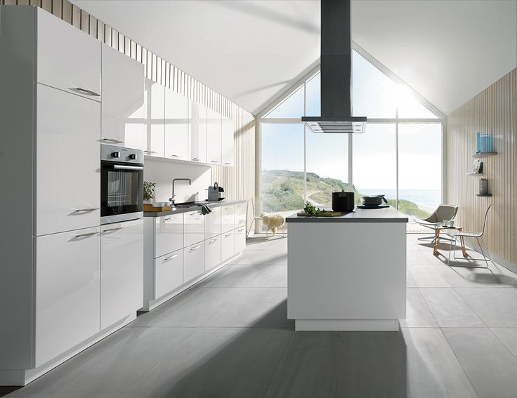 Our kitchenoftheweek is this sleek and stylish gala kitchen schüller crystal grey