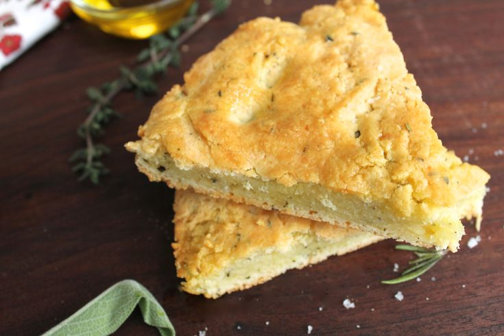 ♥ Grain Free Herbed Focaccia Bread ♥ Read the comments section  http://www.paleoplan.com/2013/11-25/new-paleo-herbed-focaccia-bread-recipe/