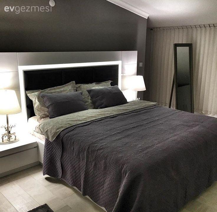 Abajur, Çatı katı, Salon, Siyah, Yatak Odası
