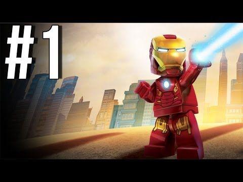 Lego Marvel Superheroes Walkthrough Part 1 Let's Play Gameplay Playthrough XBOX360 PS3 PC