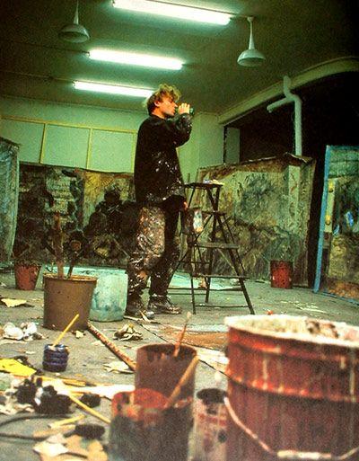 Miquel Barceló´s Studio