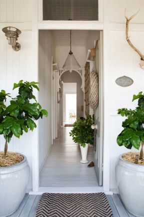 Inside Out magazine | Kara Rosenlund | Entry: The couple sanded and whitewashed the original floorboards.