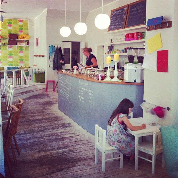 A mini break in my neighborhood cafe by decor8, via Flickr