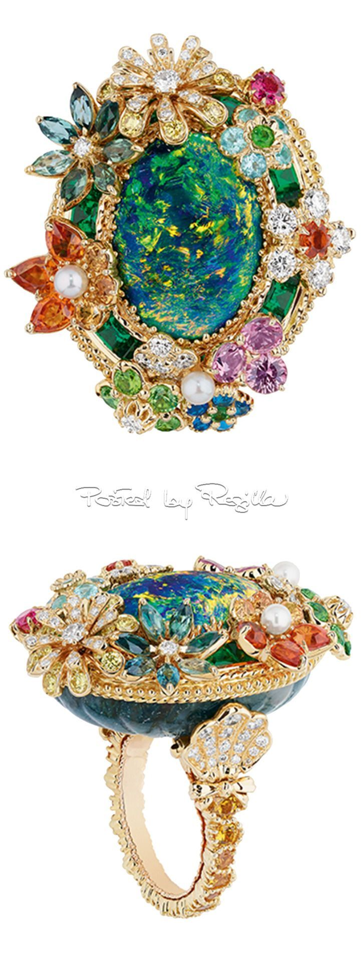 Regilla ⚜ 2017 collection of jewelry Dior
