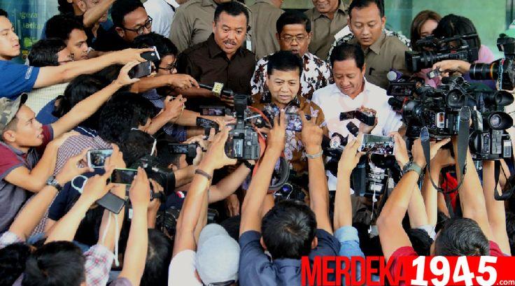 Sekretaris Fraksi Partai Golkar Agus Gumiwang mengatakan, pencekalan Ketua DPR Setya Novanto untuk bepergian keluar negeri belum membuktikannya bersalah