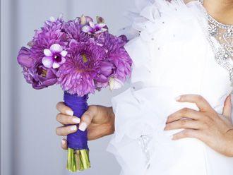 Bouquet Morado -- Fotografía: Flower Talk