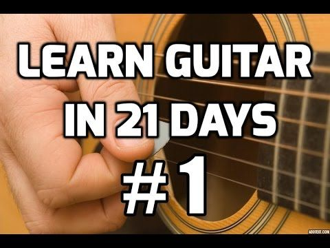 Guitar Lessons for Beginners in 21 days #1 | How to play guitar for beginners - YouTube