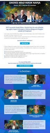 Weboldal megvalósít - megvalosit.hu Sok-sok Landing Page készült a rendezvényekhez