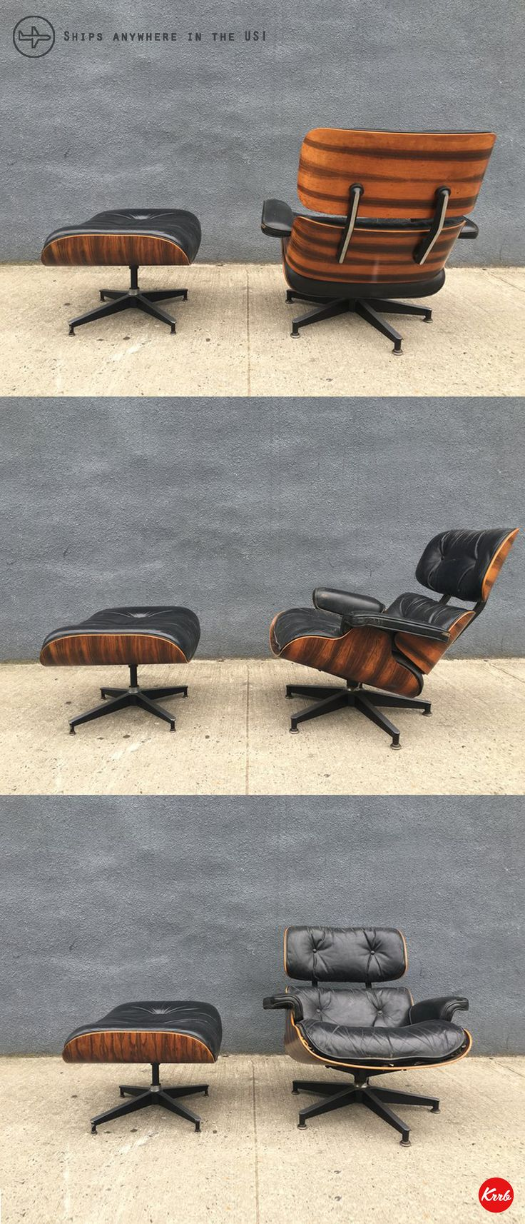 authentic eames lounge chair. An Authentic Herman Miller Lounge Chair In The Coveted Brazilian Rosewood (1970s). Eames T