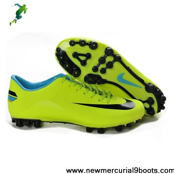Best Gift Nike - Jnr Mercurial Victory III AG Green Black Soccer Boots For Sale