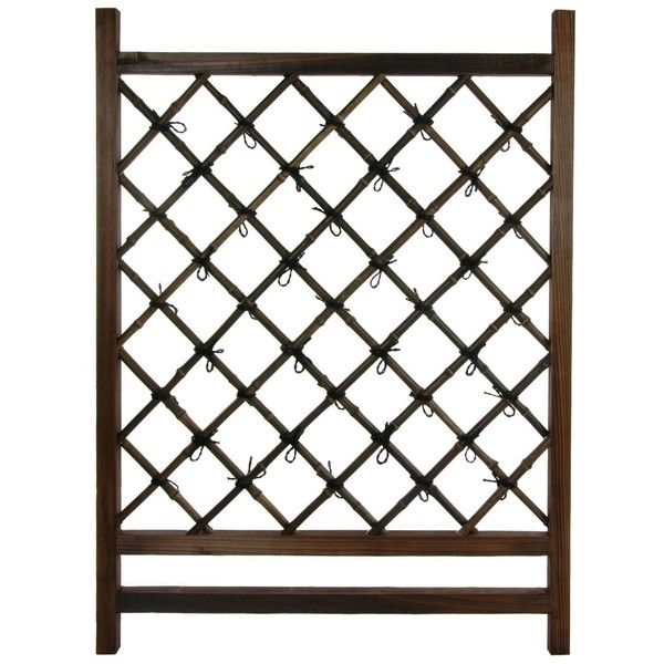 Japanese Wood U0026 Bamboo Fence Section ($100) ❤ Liked On Polyvore Featuring  Home,