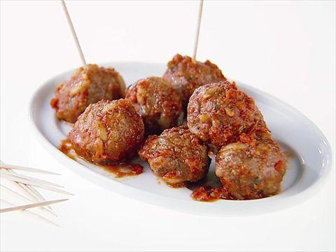Ricotta and Cinnamon Meatballs : Ricotta, cinnamon and orzo add big flavor and texture to Giada's meatballs.