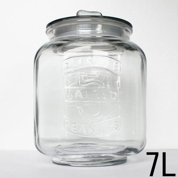グラス・クッキー・ジャー-7Liter