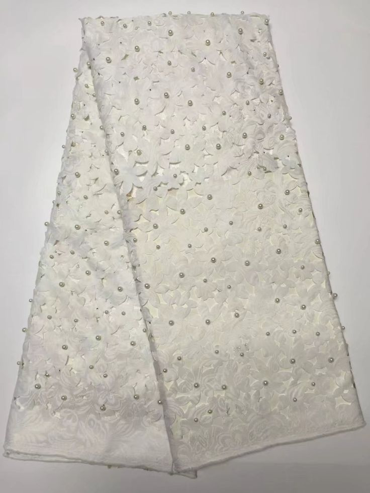 ==> [Free Shipping] Buy Best Amazing wedding mesh lace silver African embroidery French net lace fabric with stones and beads for lady dress Online with LOWEST Price   32816152341