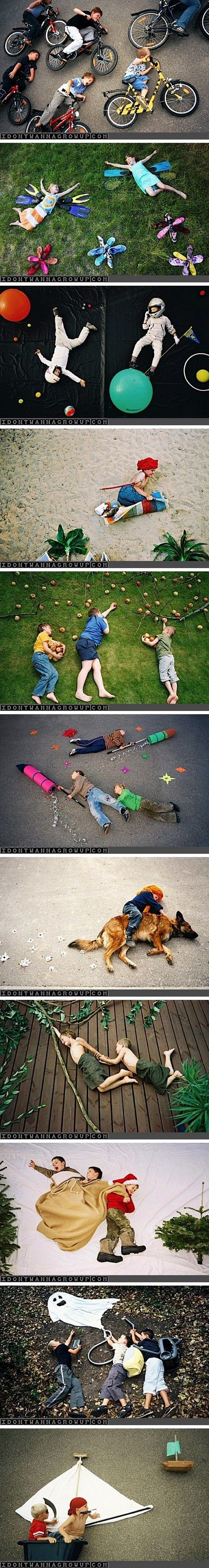 Great kids photography ideas