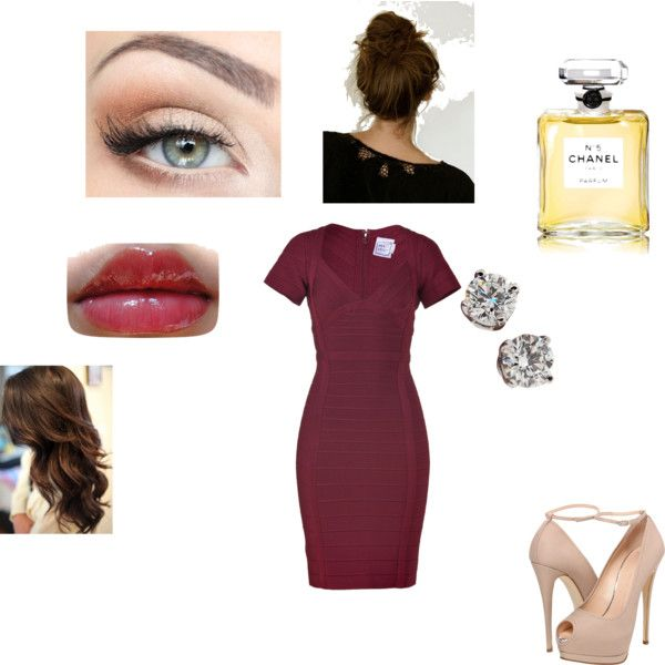 """50 Shades...How I see Ana Steele-Grey"" by stacy-williams-white on Polyvore"