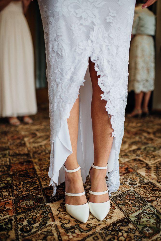 gorgeous wedding shoes - grace loves lace dress - new zealand wedding
