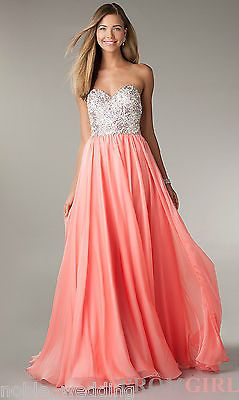 2014 New Long Fashion Chiffon Evening Formal Party Wedding Prom Dress Ball Gowns