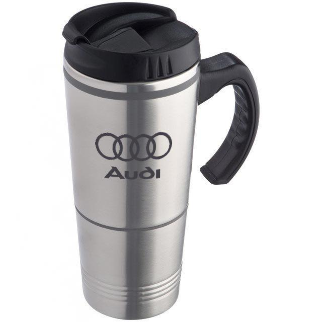 Engraved Stainless Steel Travel Mug For Audi Coffeemug