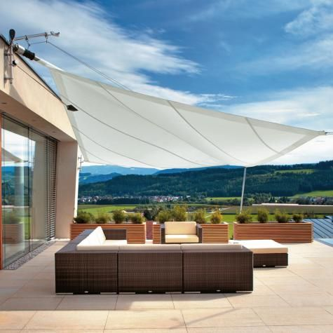 Another Sunshade Patio Exterior Detail Pinterest