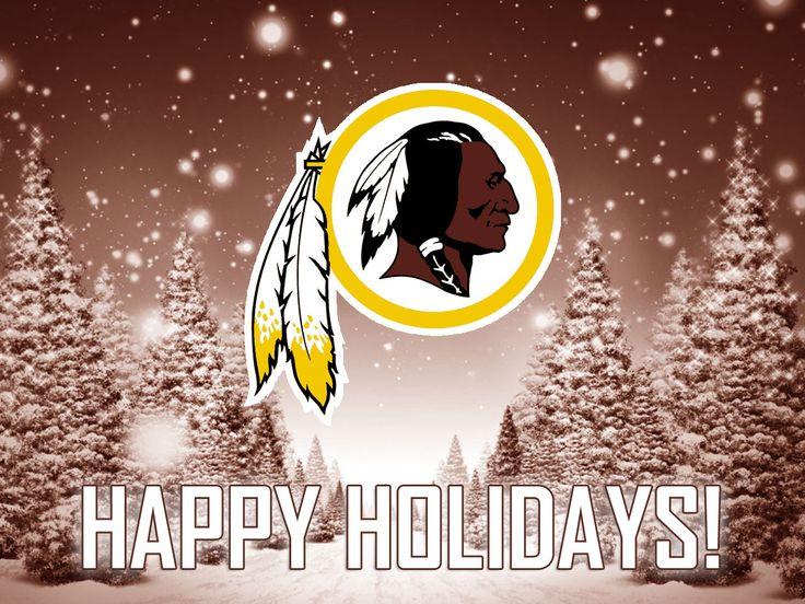Washington Redskins Happy Holidays