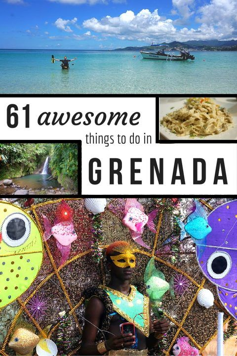 Grenada | Make the most of your Royal Caribbean adventure vacation and discover 61 awesome things to do after disembarking in this true Caribbean jewel.