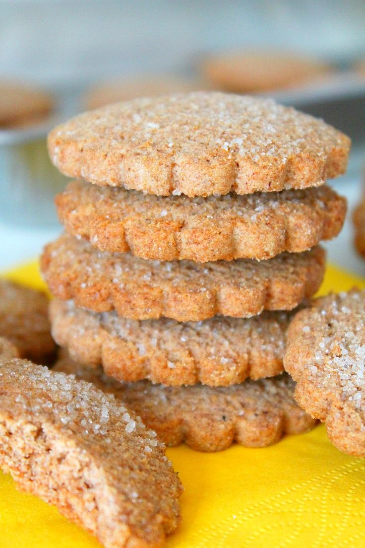 CINNAMON SUGAR COOKIES RECIPE -  A little moist, a little crunchy, these cookies are bursting with cinnamon flavor!