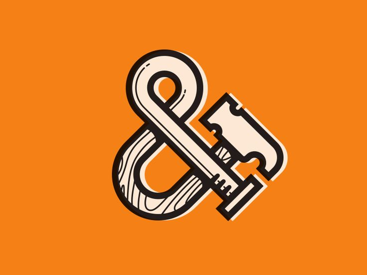 Hammer-Nail ampersand