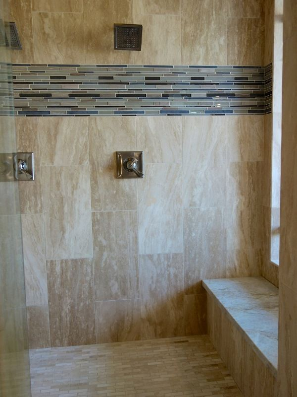 ingenious ivory vein cut travertine. This truly unique shower designed by Idola Design Group and installed  Arizona Custom Stone makes 34 best bathroom images on Pinterest Bathrooms decor