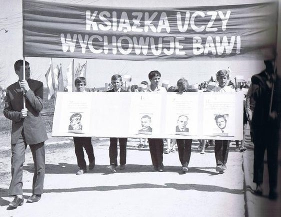 Great communist writers featured during the May 1st Parade
