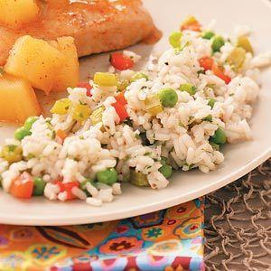 Confetti Rice Recipe   Taste of Home Recipes