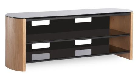 Alphason FW1350 AV Rack (Light Oak)