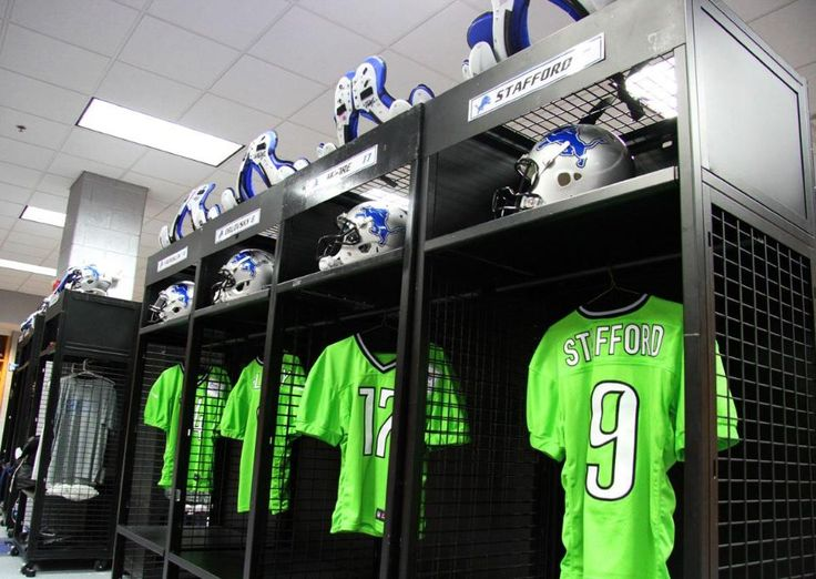 The Detroit Lions launch a stadium recycling campaign with recycled jerseys-For their Wednesday night practice, the Detroit Lions' quarterbacks will sport bright-green jerseys made out of recycled plastic bottles.