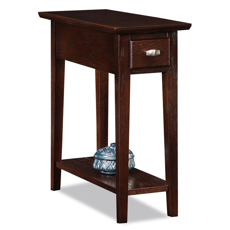Chocolate Oak End Table