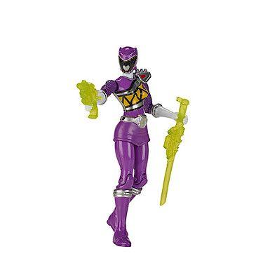 Power Rangers Dino Super Charge 12.5cm Action Figure - Purple Ranger