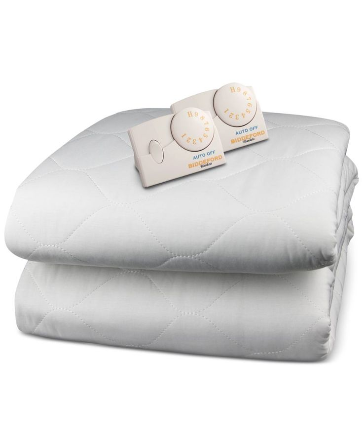 biddeford quilted heated queen mattress pad - Heated Mattress Pad King