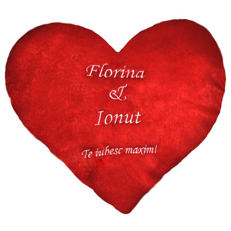 #Perna inima personalizata prin broderie http://www.cadouripersonale.ro/Pernuta-inimioara-personalizata-p-17024-c-383-p.html