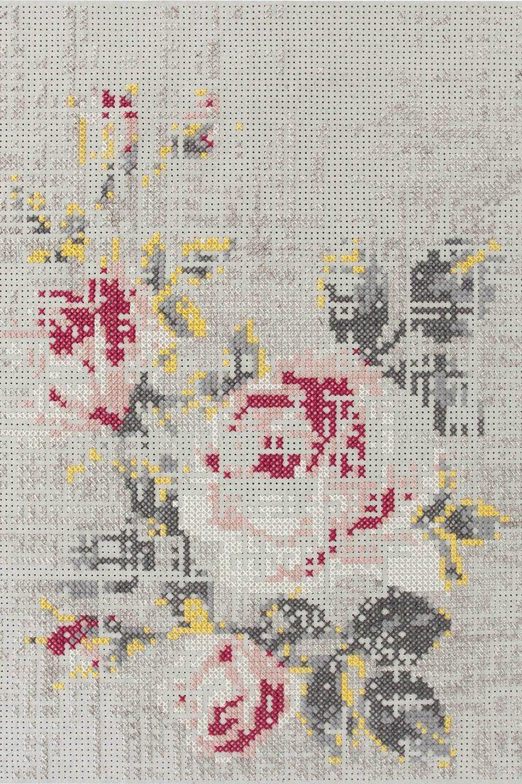 best yastık images on pinterest crossstitch counted cross