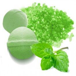 Tinte Verde Menta para elaborar Sales y bombas de Baño #diy.